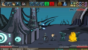 Flash játékok - Age of War 2