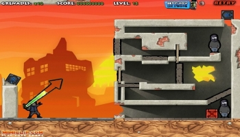 Jeux flash - Fragger Lost City