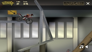 Jeux flash - Trials 2