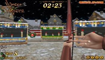 Jeux flash - Winter Bow Master