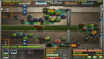 Jeux flash - Zombie Defense Agency