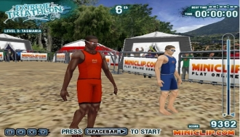 Jeux flash - Extreme Triathlon