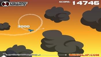 Jeux flash - Volcanic Airways