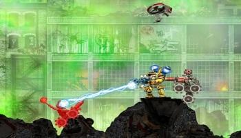 Jeux flash - Robo Rampage