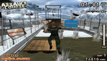 Jeux flash - Assault Course