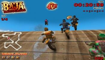 Jouer gratuitement à Baja Motocross