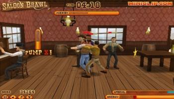 Jeux flash - Saloon Brawl