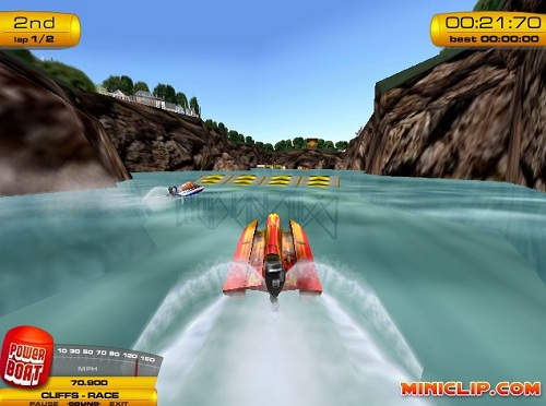 Boat Drive Game - Play online at Y8.com