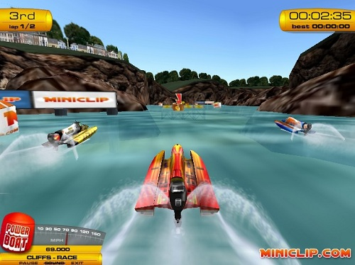 Boat Drive - Free online games at Agame.com