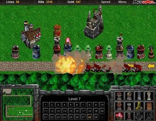 jeux flash warcraft