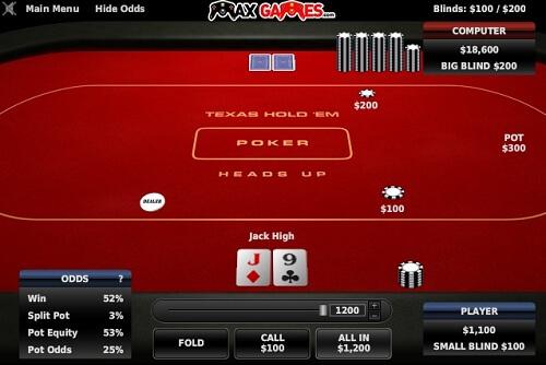 Gioco poker texas holdem