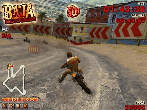 jeux de baja motocross