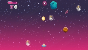 Jeux HTML5 - Space Friends
