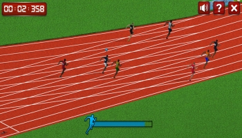 Jeux HTML5 - 100 Meters Race
