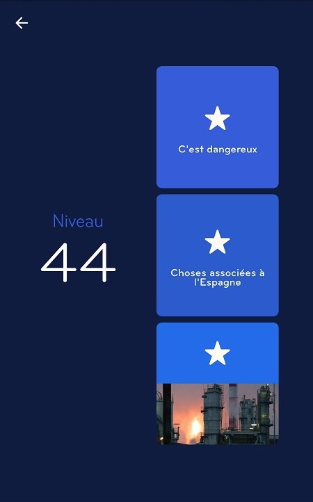 Solutions Niveau 44 - 94%