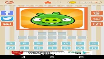 Jeux sur mobiles - Logo Quiz