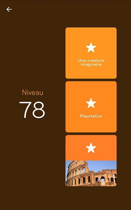 Solutions Niveau 78 - 94%