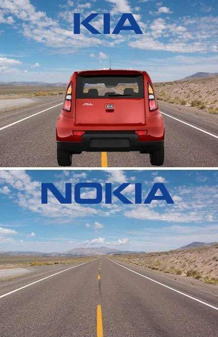 Kia et Nokia