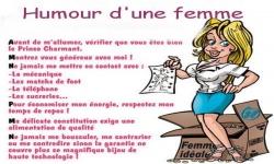 Images - Humour d'une femme