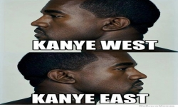 Pictures - Kanye West and Kanye East