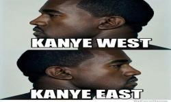 Immagini - Kanye West et Kanye Est