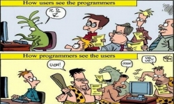Pictures - Programmers vs users