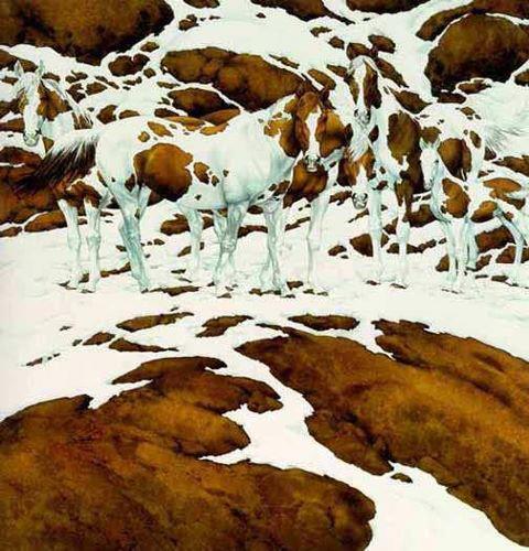 Optical Illusion - How many horses?