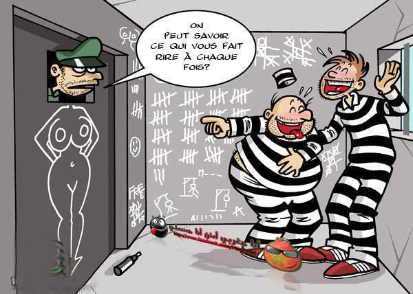 Humour en prison