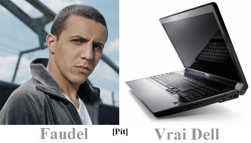 Faudel et vrai Dell
