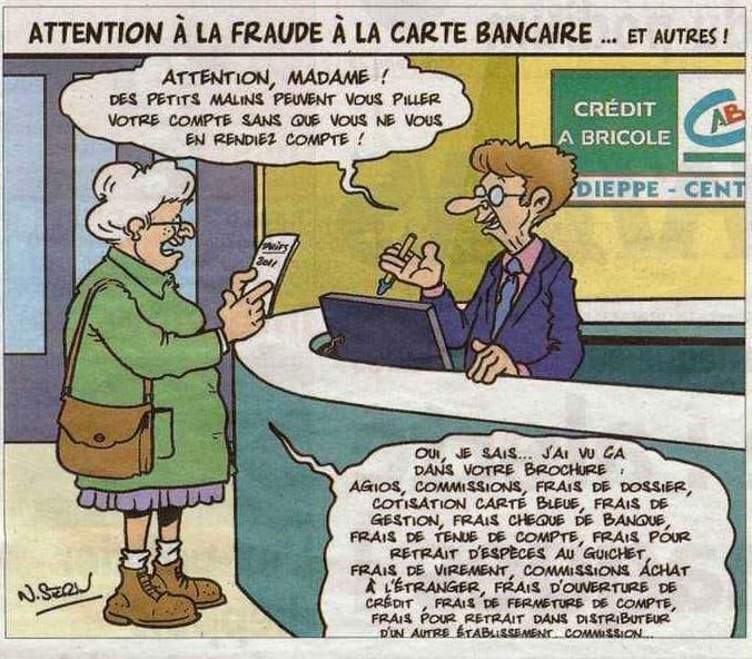Attention à la fraude à la carte bancaire !