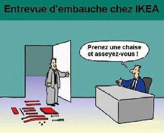Entretien d'embauche chez IKEA