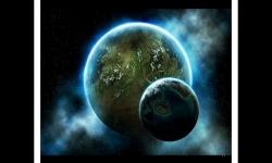 La beauté de l'Espace et de ses planètes