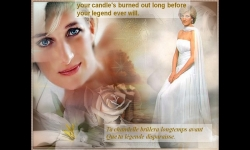 Diaporamas PPS - Lady Diana et Candle in the wind