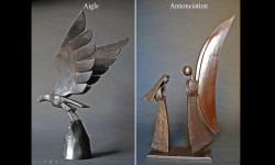 Diaporamas PPS - Sculptures de métal de Jean-Pierre Augier