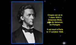 Diaporamas PPS - La vie du compositeur Chopin
