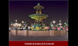 Diaporamas PPS - Féérie parisienne la nuit
