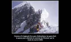 Diaporamas PPS - Les morts de l'Everest