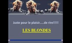 Diaporamas - Quelques blagues sur les blondes