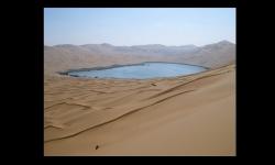 Diaporamas - Badain Jaran, le désert des lacs mystérieux en Chine