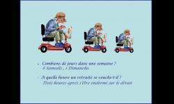 Diaporamas - Quelques questions posées aux retraités