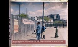 Photo autochrome - Paris au début du XXème siècle en couleurs