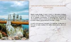 Diaporamas PPS - Golden Bridge, un pont à couper le souffle au Vietnam