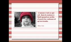Diaporamas - L'amour vu par les enfants