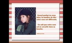Diaporamas PPS - L'amour vu par les enfants