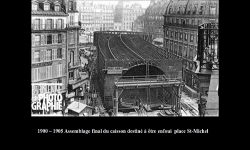 Diaporamas PPS - Construction du métro à Paris