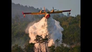 Les pompiers du ciel et leurs Canadairs
