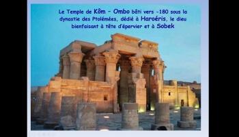 La route des Pharaons