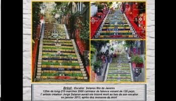 Les beautés du monde par les escaliers en tout genre