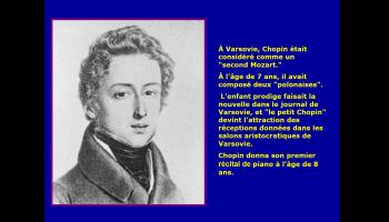 La vie du compositeur Chopin