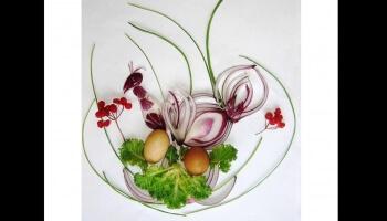 Diaporamas PPS - De l'art avec des oignons